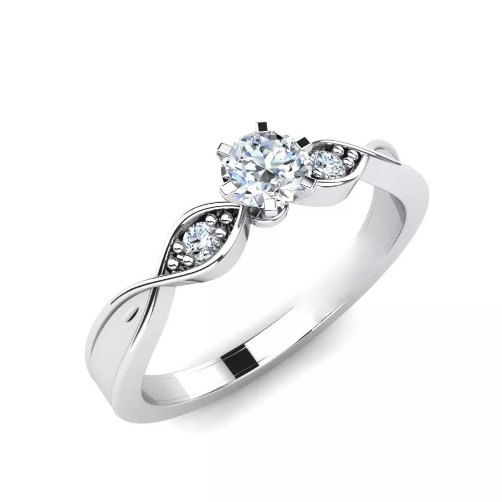 Помолвочное Кольцо «Наида»