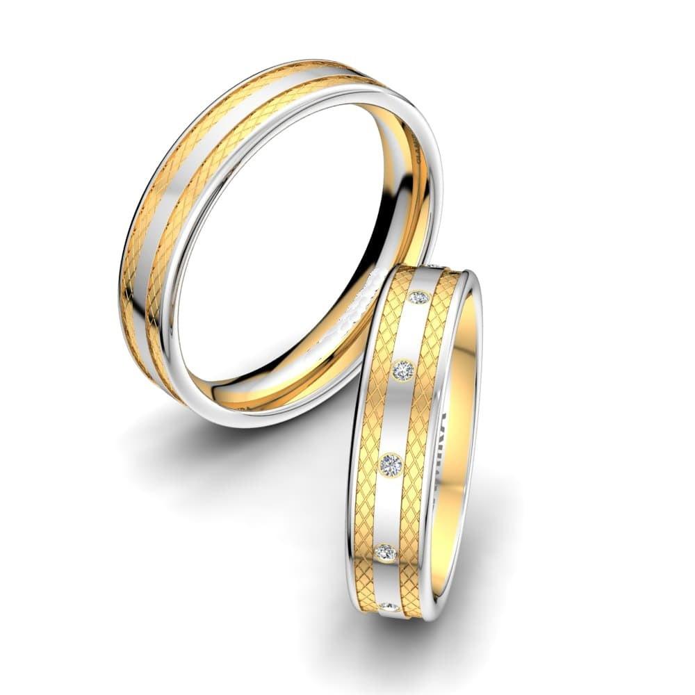 Обручальные кольца «Двое»