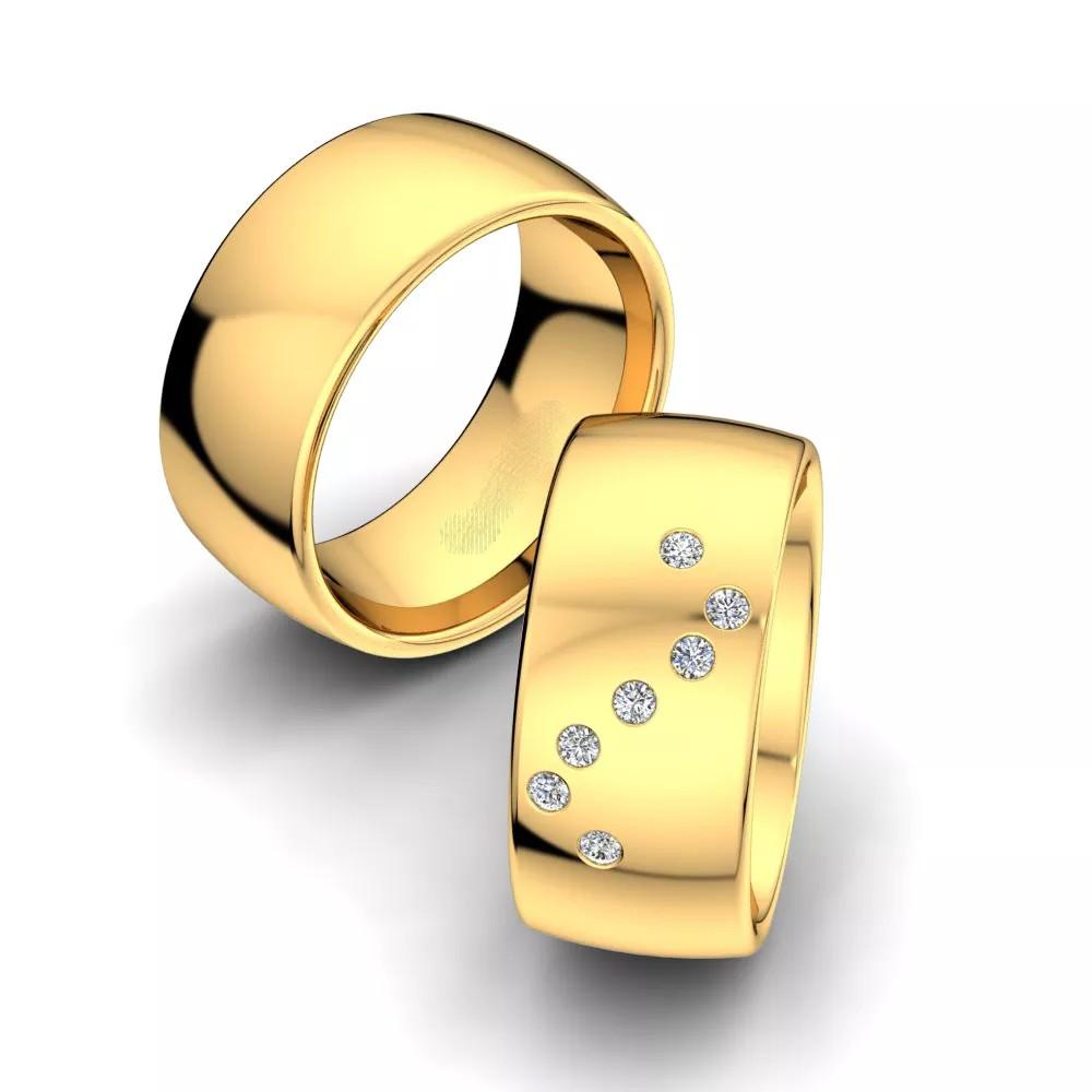 Обручальные кольца «Шанс»