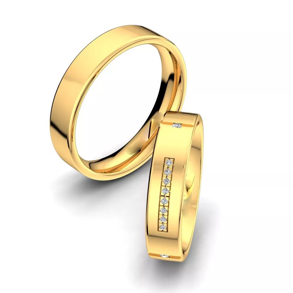 """Обручальные кольца """"Аллюр"""""""