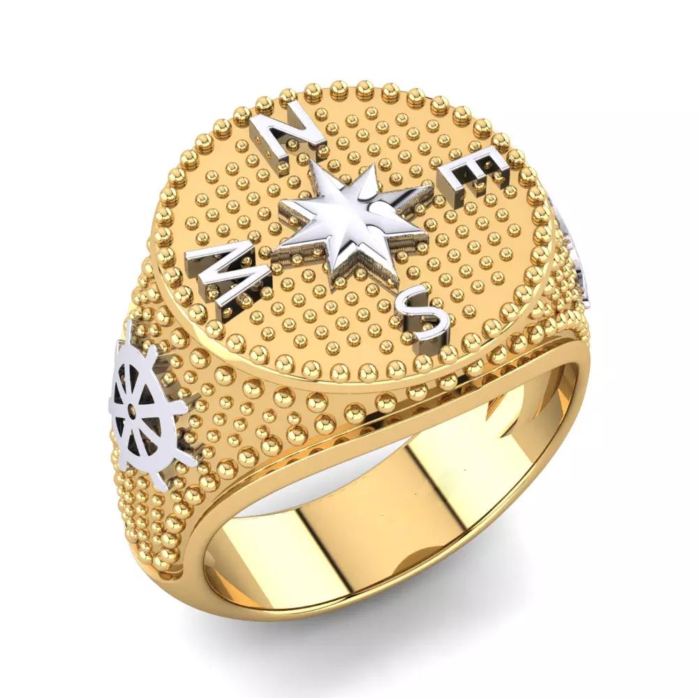 Кольцо «Компас»