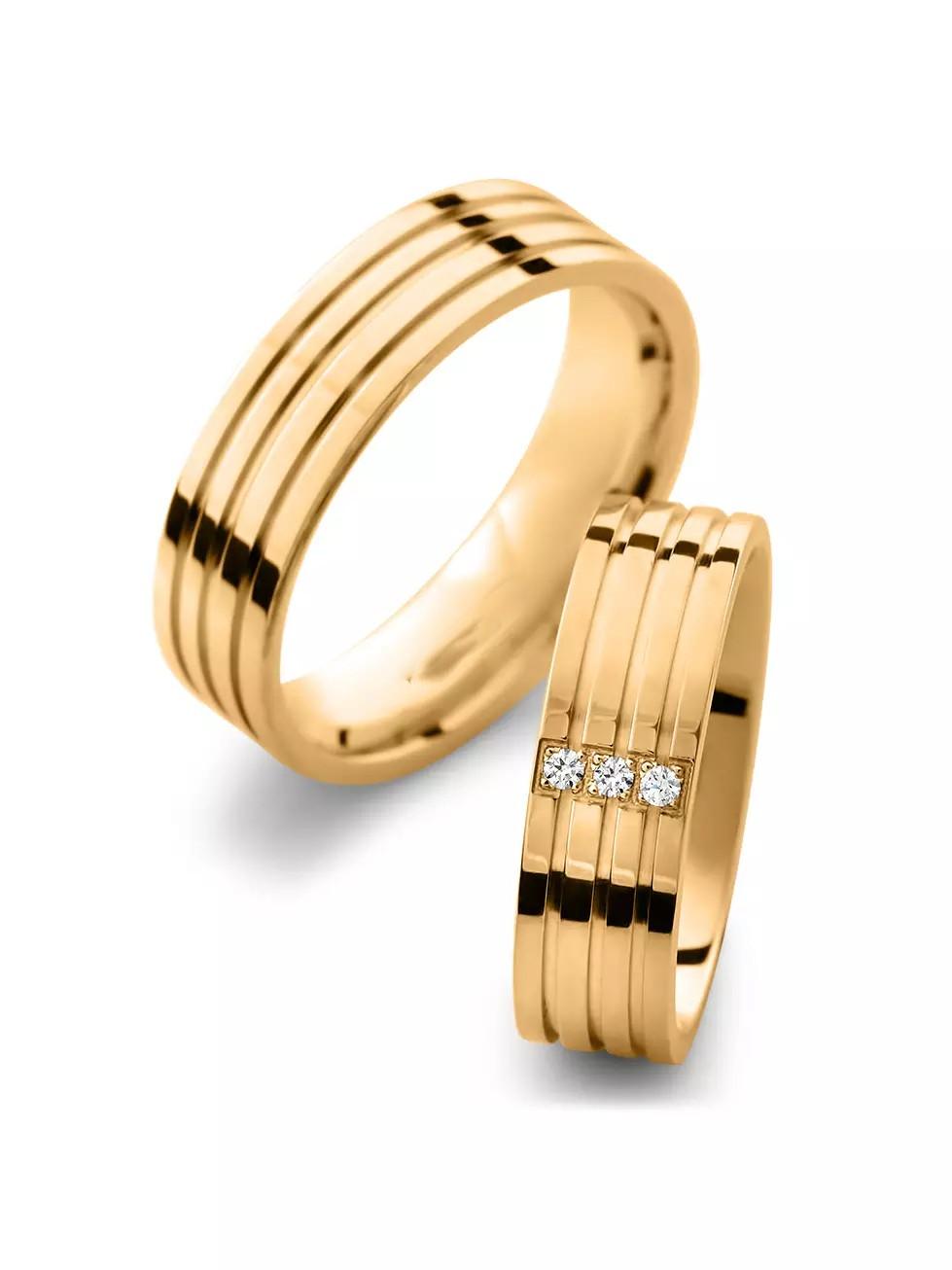 Обручальные кольца «Блеск»
