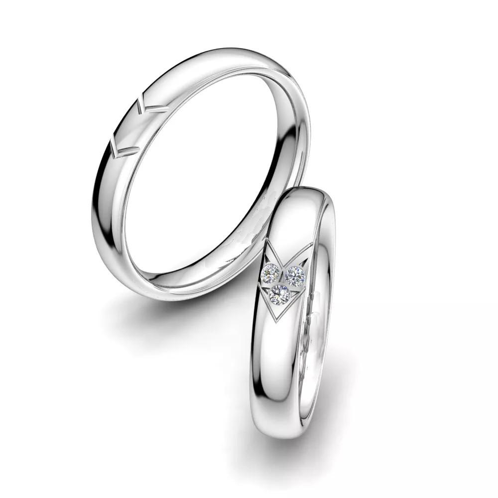Обручальные кольца «Молчание»
