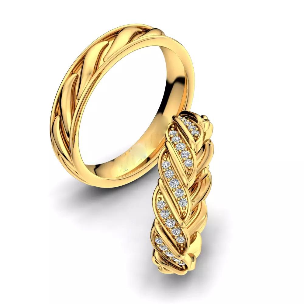 Обручальные кольца «Твист»
