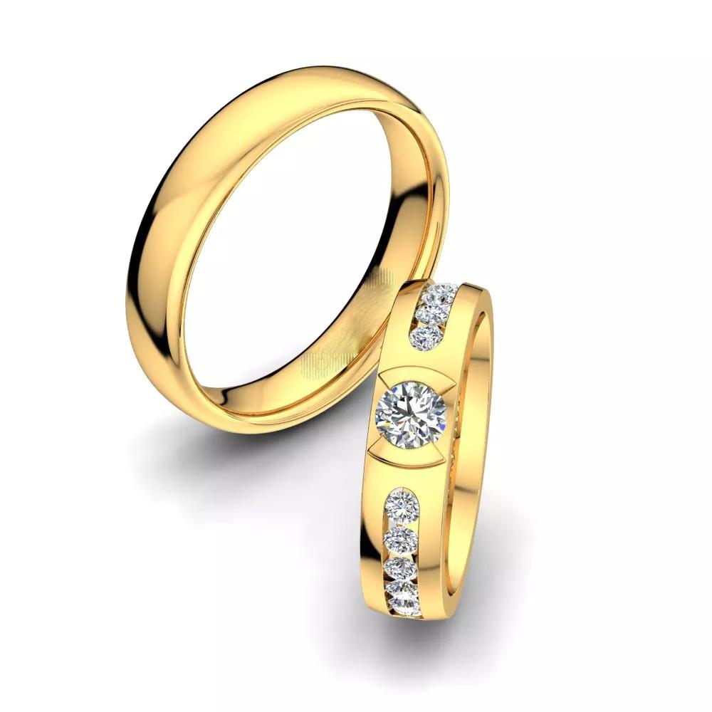 Обручальные кольца «Мы»