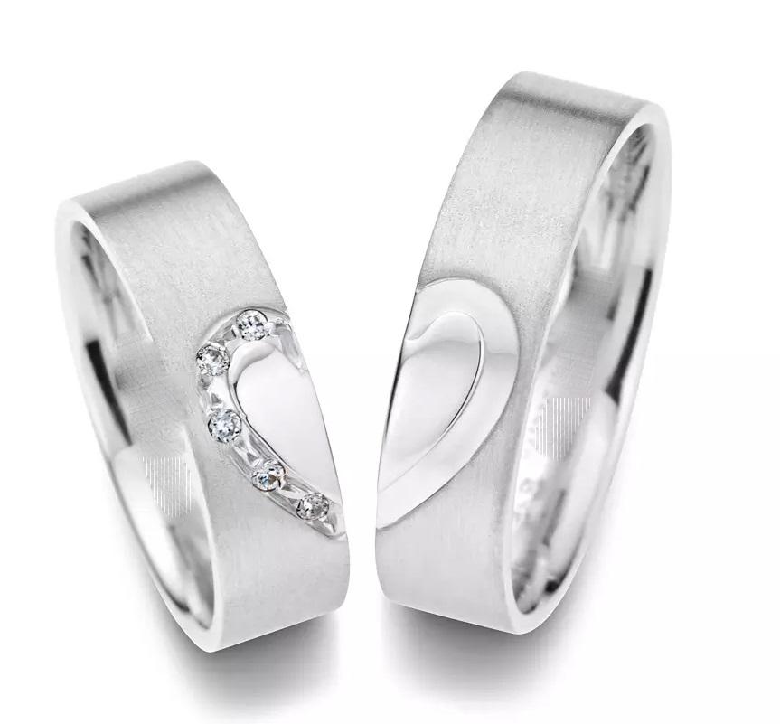 Обручальные кольца «Сердце»