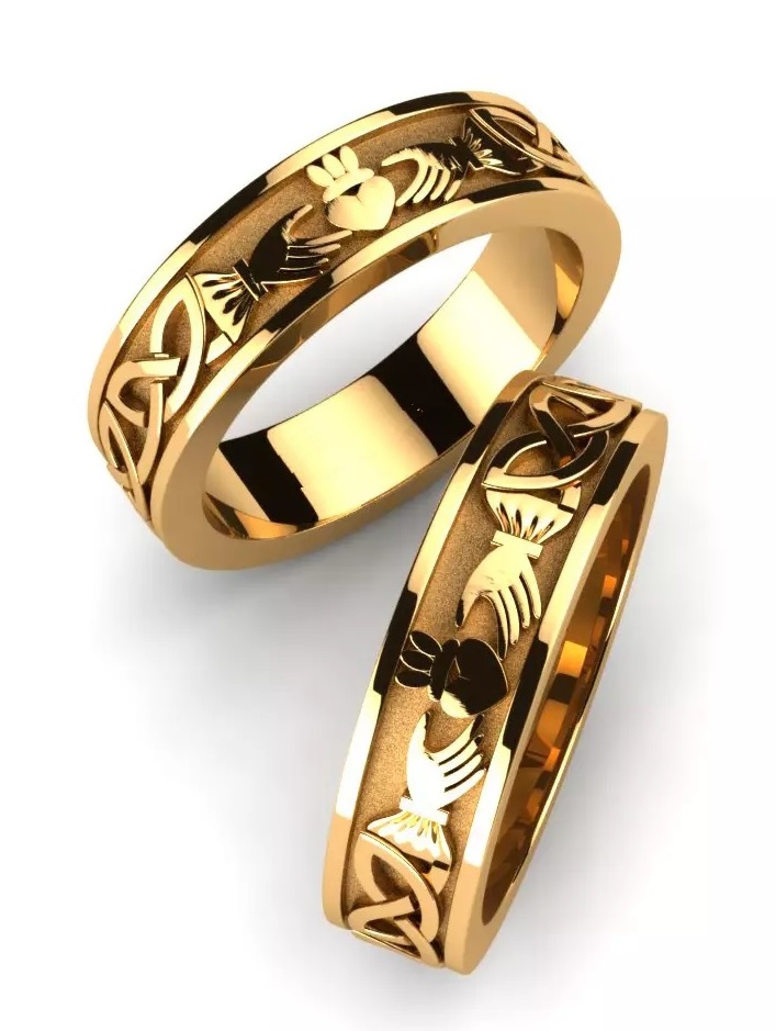 """Обручальные кольца """"Единство"""""""