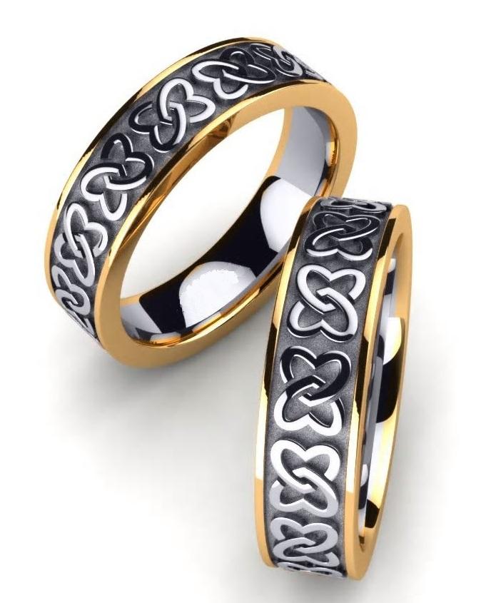 """Обручальные кольца """"Кельт"""""""