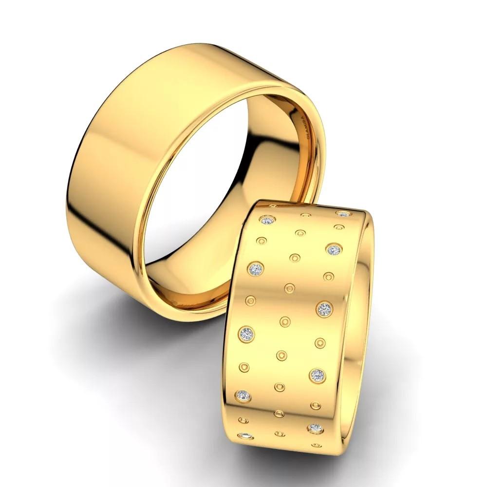 Обручальные кольца «Капли счастья»