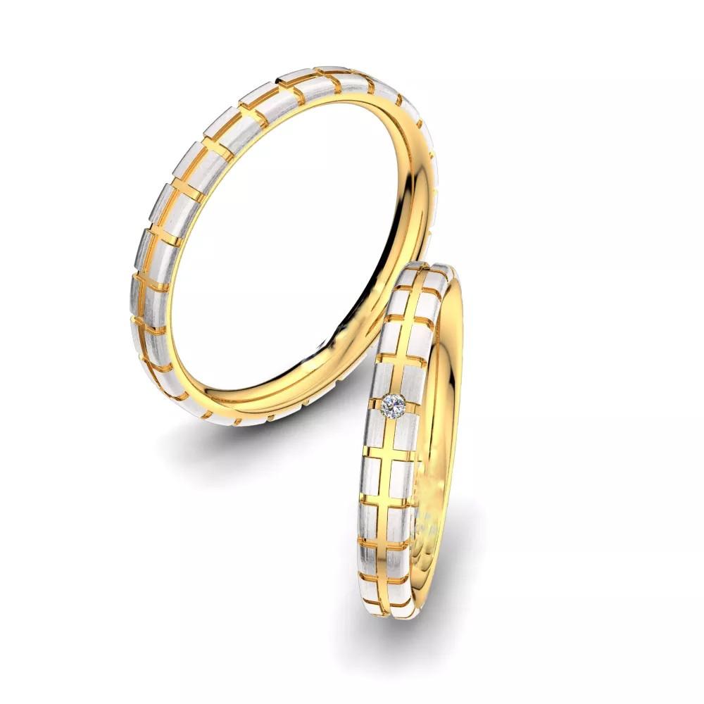 Обручальные кольца «Чистота»