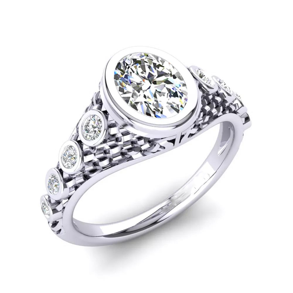 Помолвочное кольцо 444079