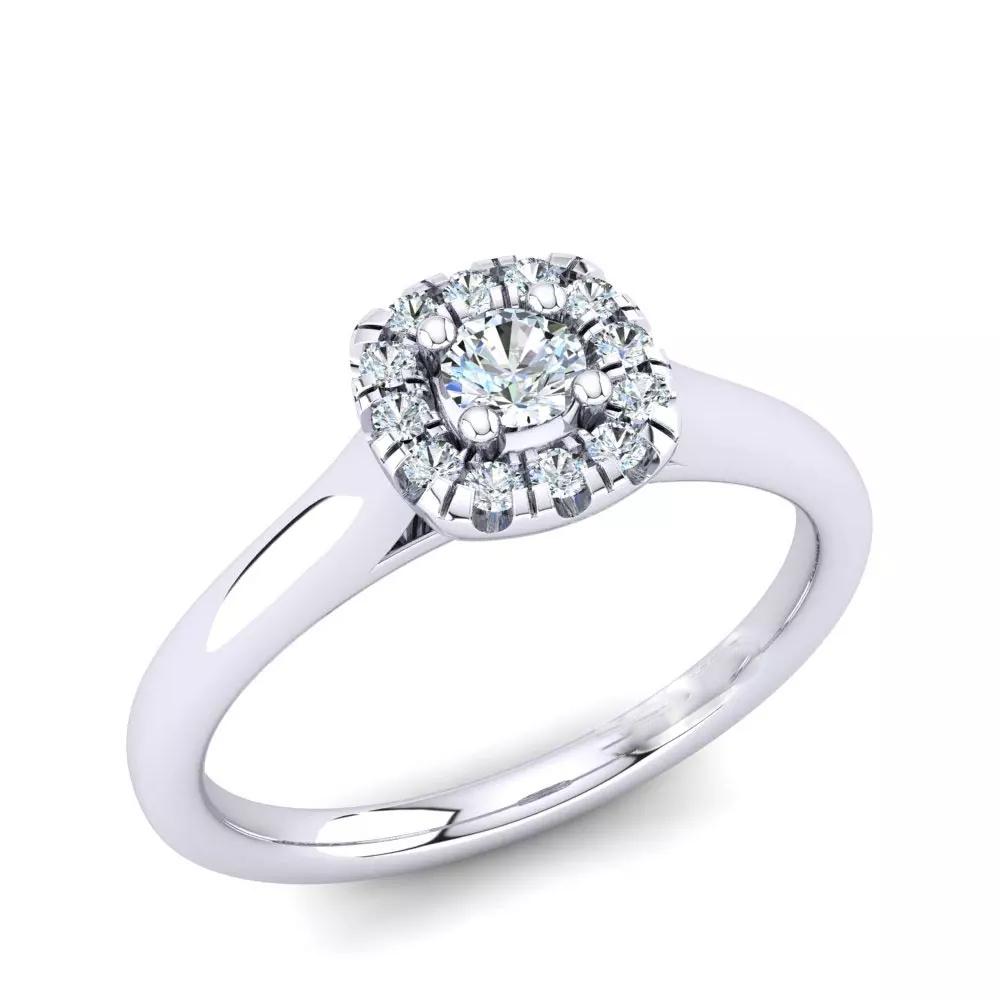 Помолвочное кольцо 444080