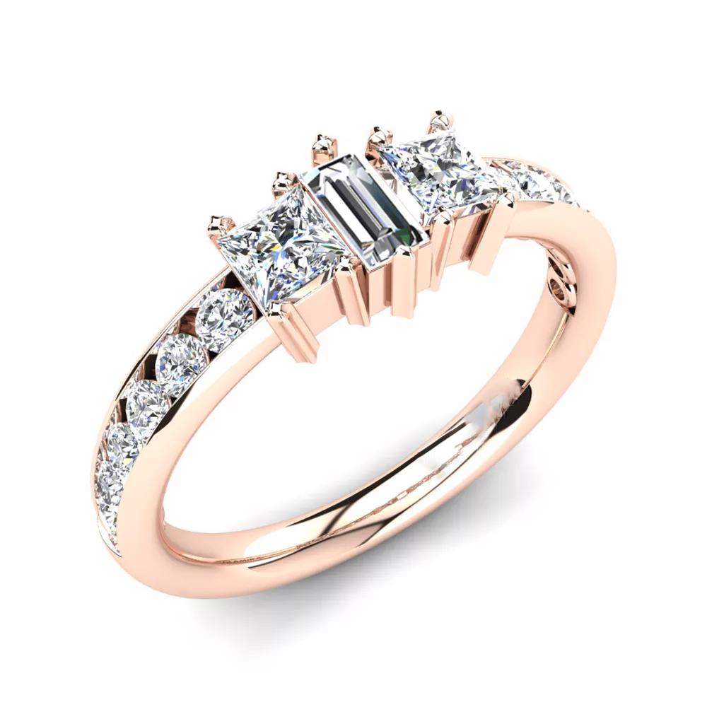 Помолвочное кольцо 444081
