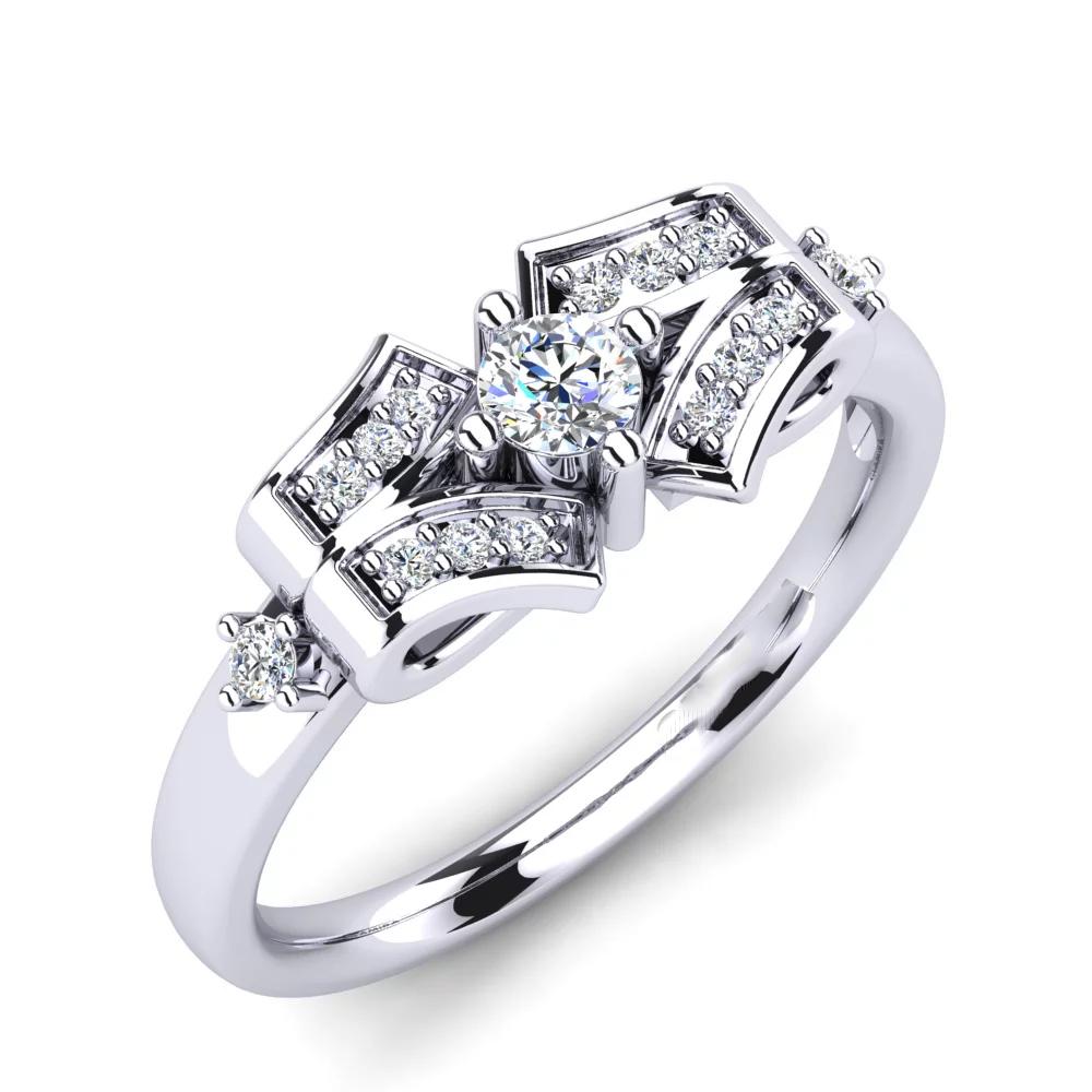 Помолвочное кольцо 444083