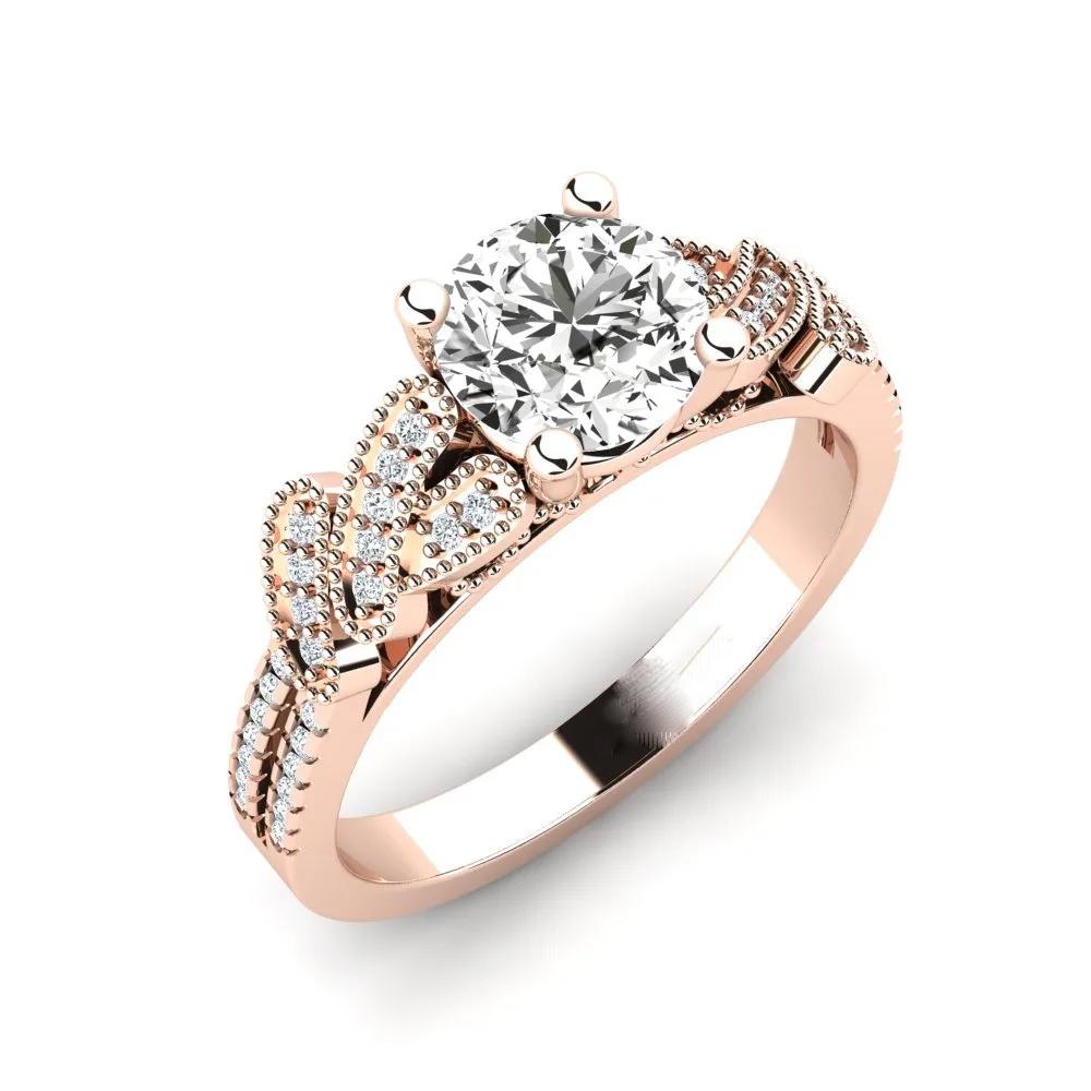 Помолвочное кольцо 444085