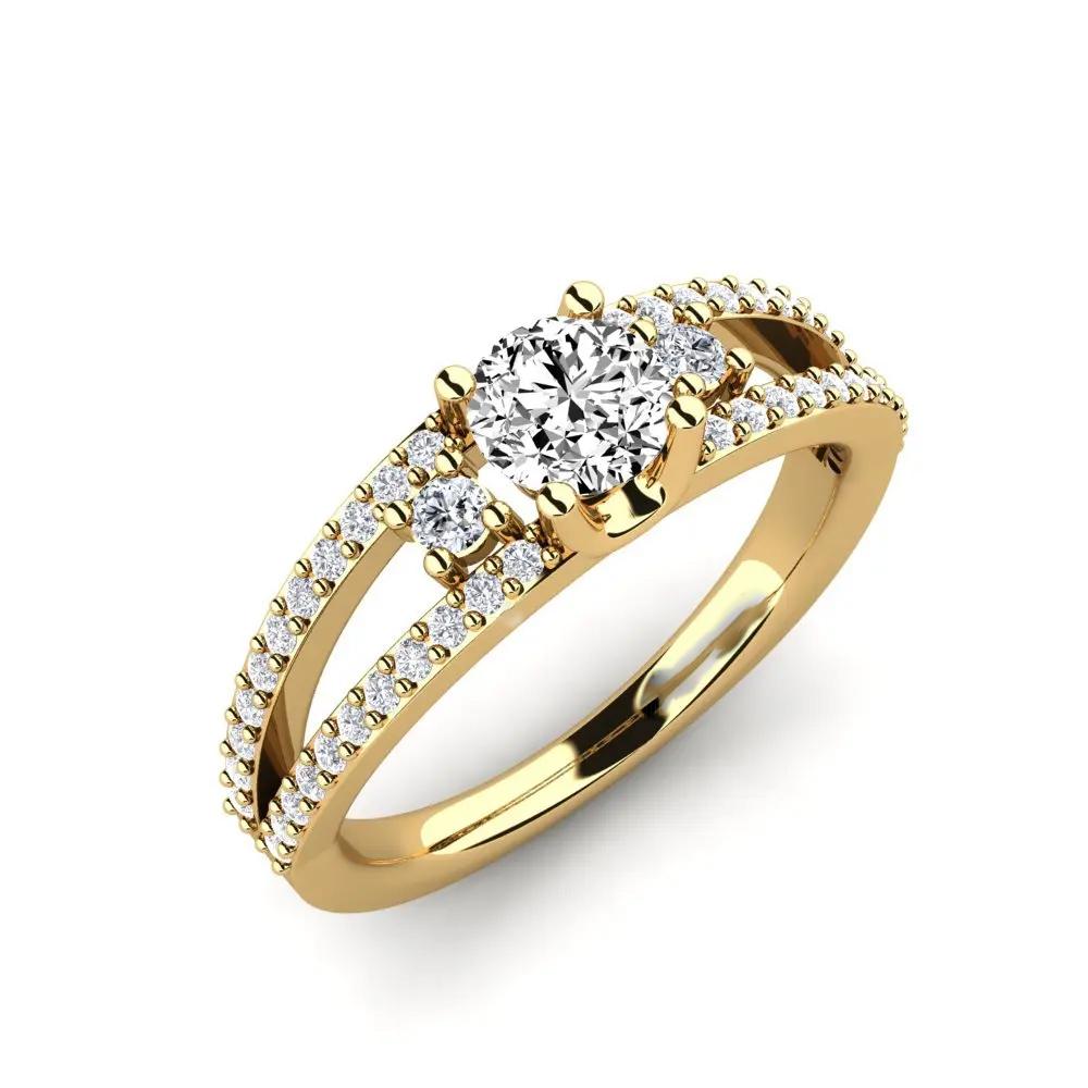 Помолвочное кольцо 444086