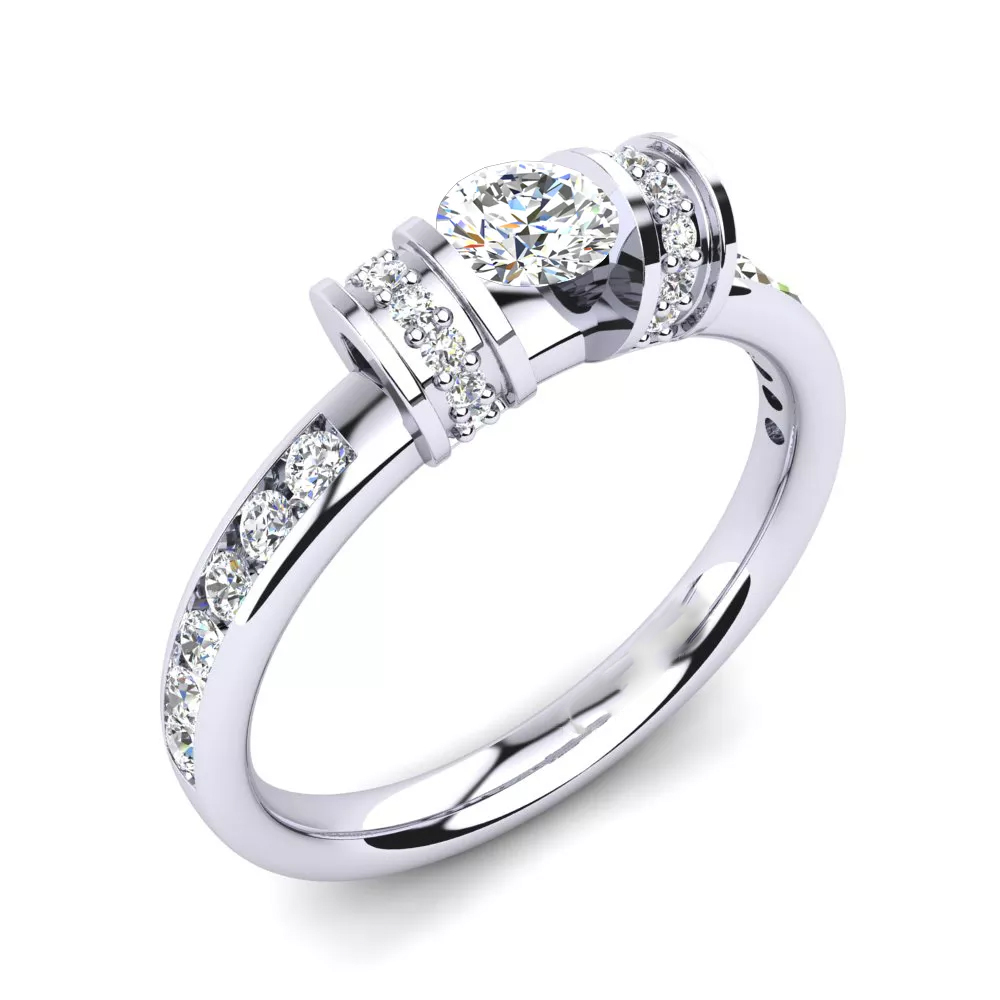 Помолвочное кольцо 444087