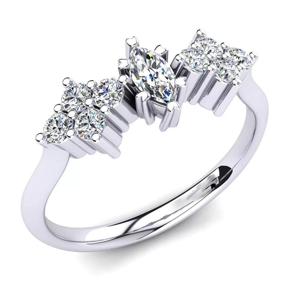 Помолвочное кольцо 444092
