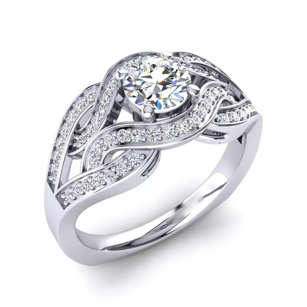 Помолвочное кольцо 444093