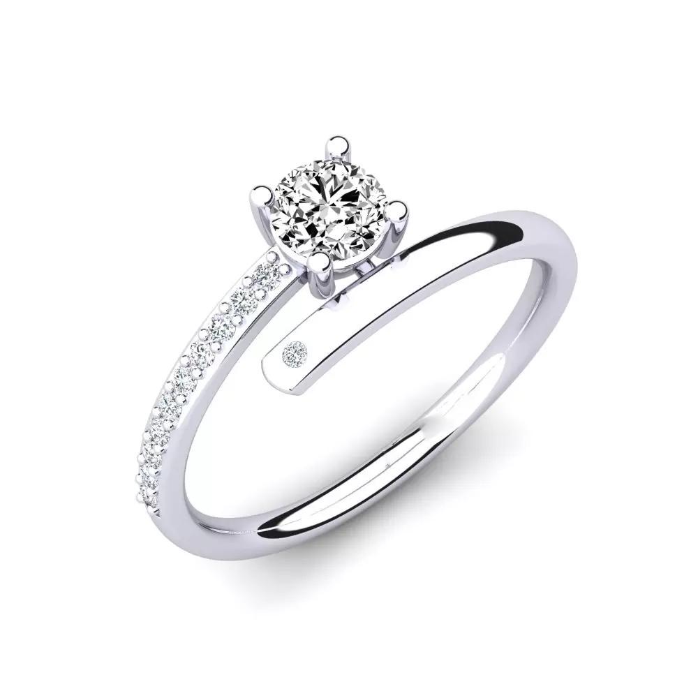 Помолвочное кольцо 444095