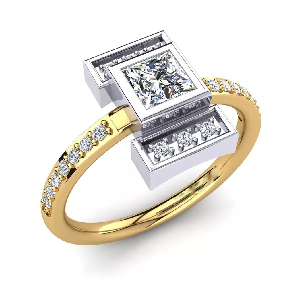 Помолвочное кольцо 444096