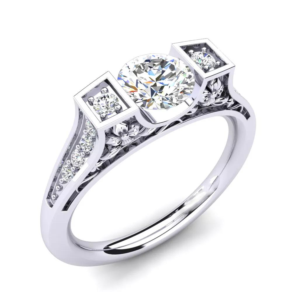 Помолвочное кольцо 444097