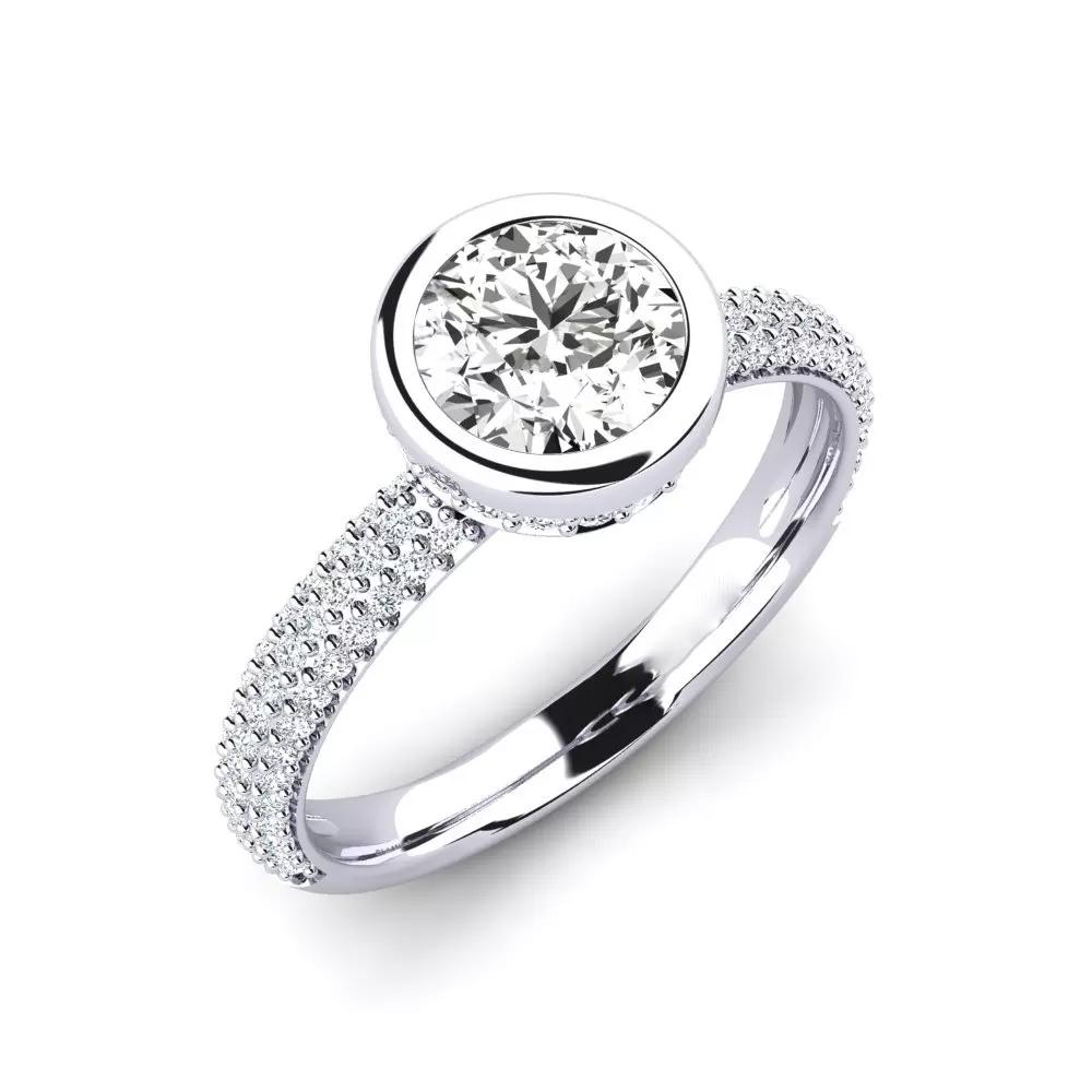 Помолвочное кольцо 444098