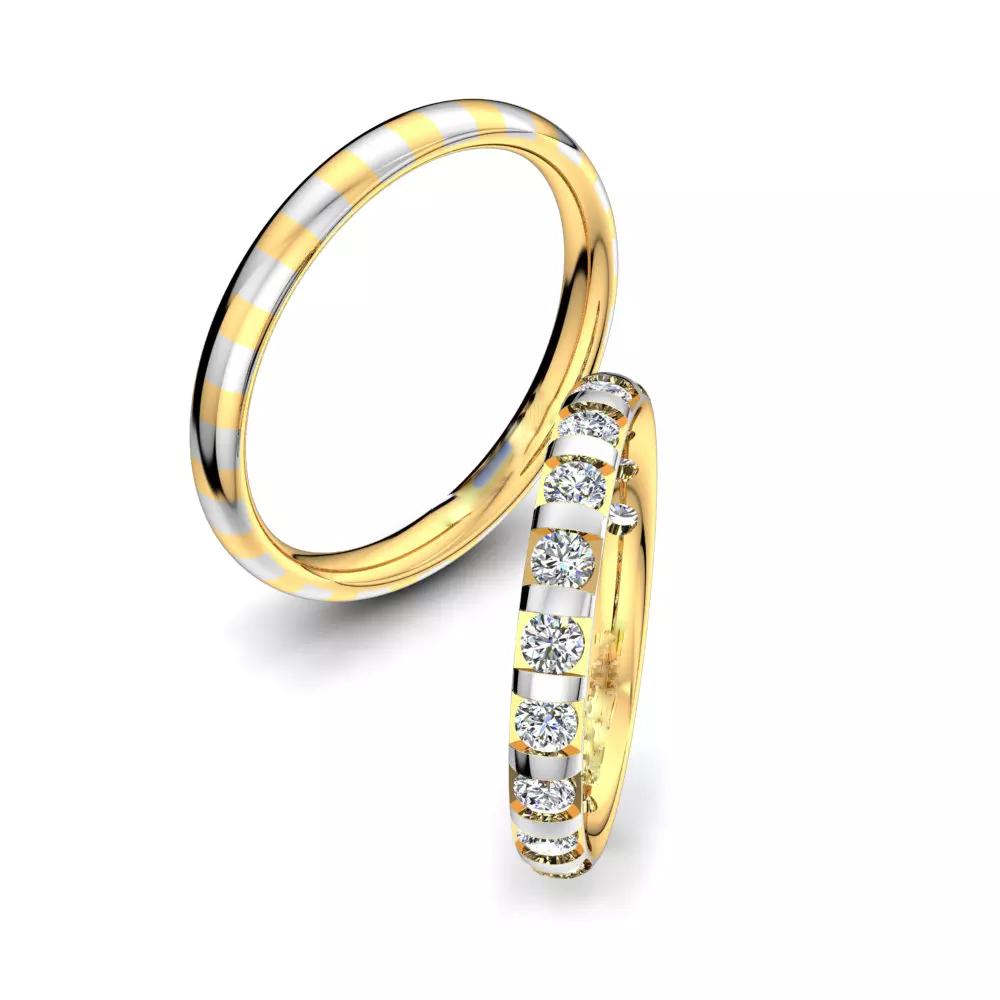 Обручальные кольца 222052